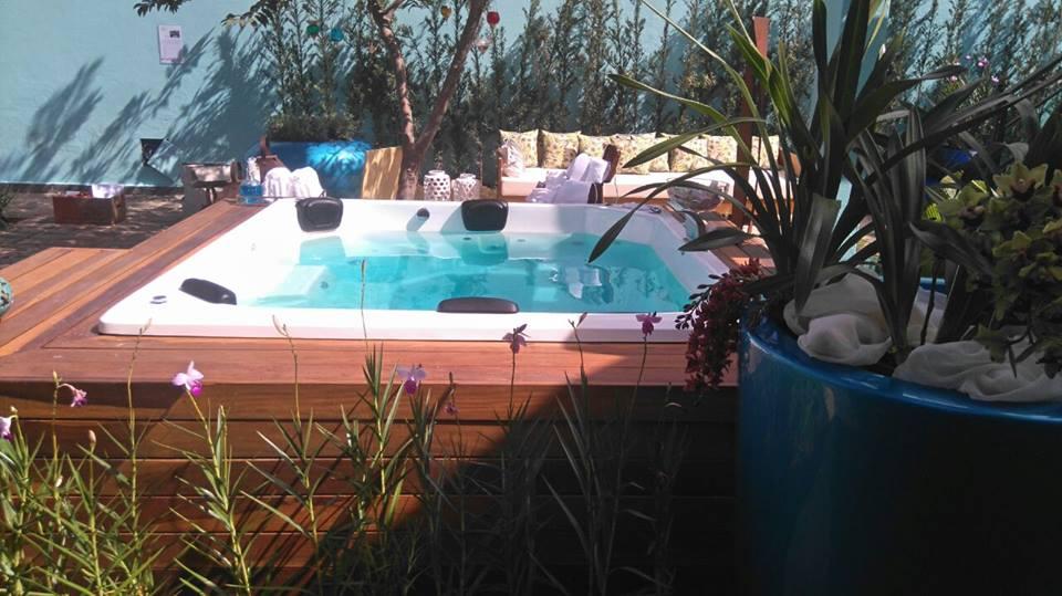 Hidro Spa Banheira Oasis - 6 pessoas
